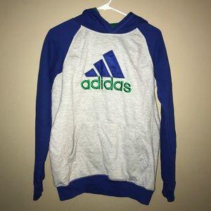 Comfy Adidas Hoodie Sweatshirt Youth XL